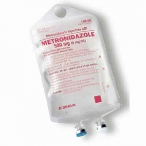 Metronidazole 500mg 100ml Iv Bag