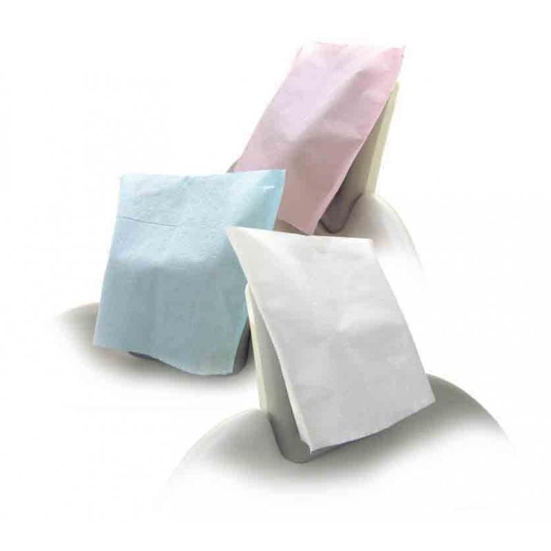 Merveilleux Medicom Paper Headrest Cover Large White (500)