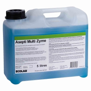 Asepti Multizyme Enzymatic Instrument Detergent 5litre Ecolab