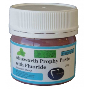 Ainsworth Prophy Paste Spearmint With Fluoride 200g