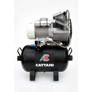 Cattani Ac200q Two Cylinder Compressor With Hood