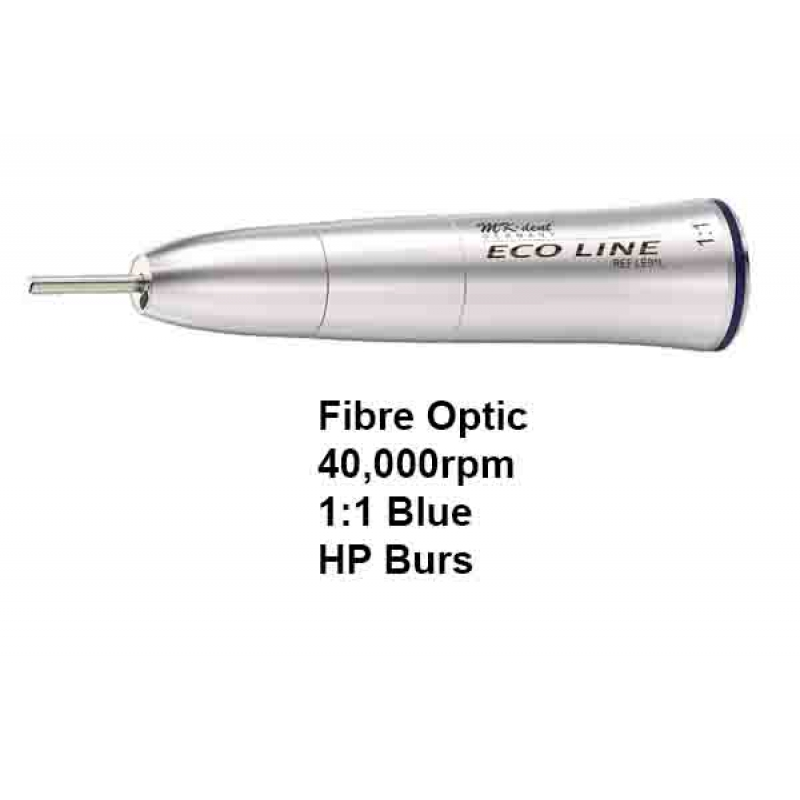 mk dent eco line straight handpiece f optic gle01l matrix dental