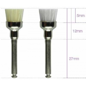 Hawe Miniature Brush Nylon Cup R/a (10)