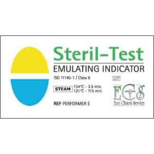 Ecs Steril Test Emulating Strips Cls 6 134c/4min (250)