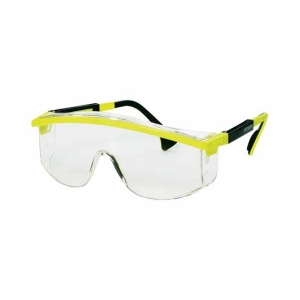 Uvex Astrospec Frame Yellow/black Lens Clear Glasses