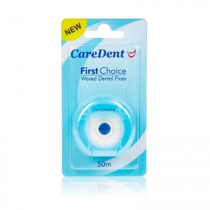 Caredent First Choice Nylon Floss Regular 50m (6)